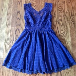 Free People Victorian Mini Dress, Size 2